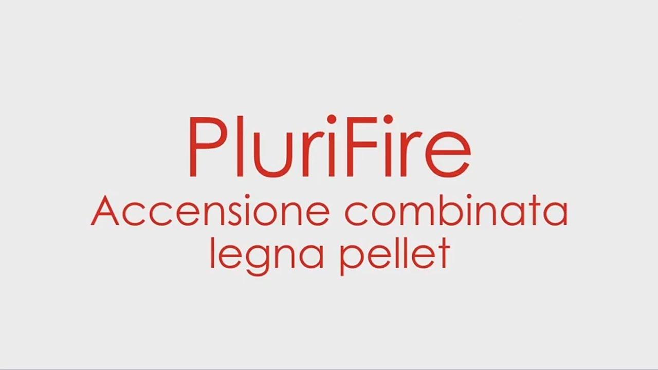 Termostufa combinata plurifire accensione legna pellet - Termostufa combinata legna pellet ...