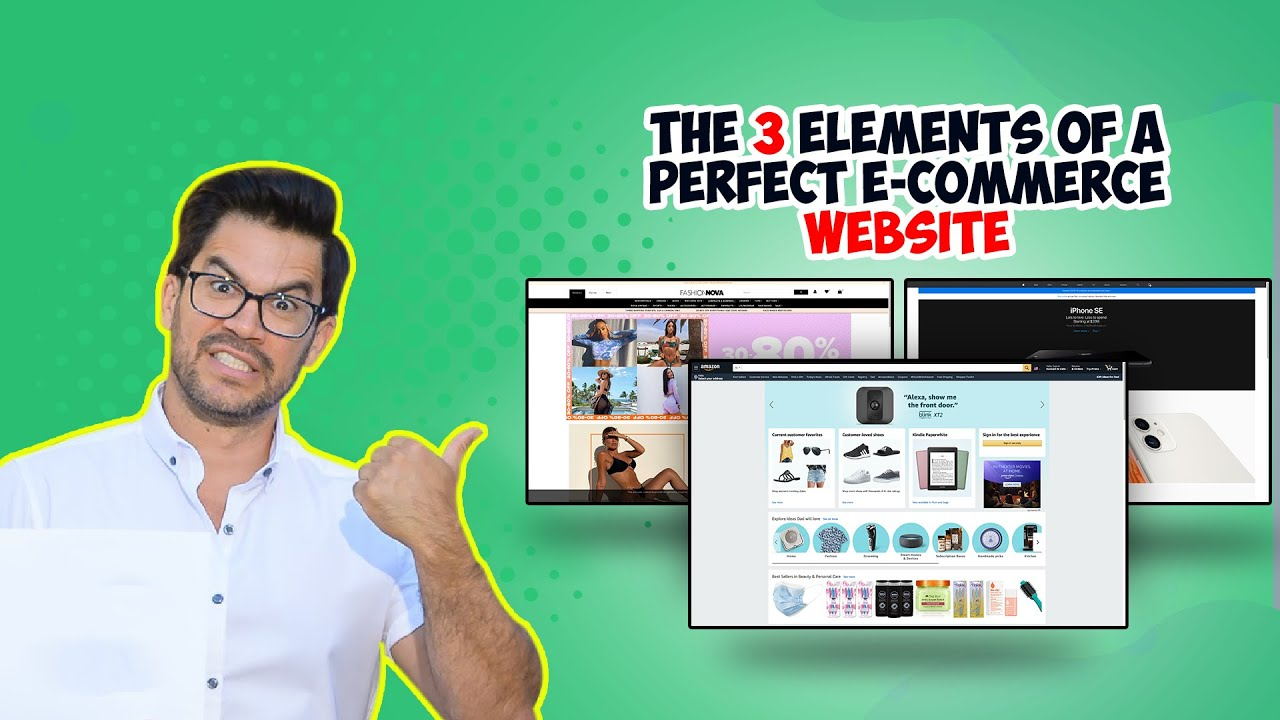 The 3 Elements Of A Perfect E-commerce Website
