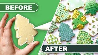 TUTORIAL | Tree Cookies | THE GRACEFUL BAKER