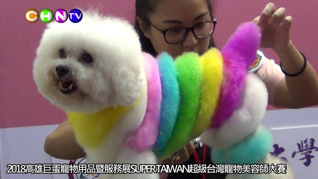 2018高雄巨蛋寵物用品暨服務展SUPER TAIWAN超級臺灣寵物美容師大賽 - YouTube