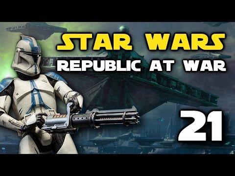 Star Wars: Republic At War - Episode 21 - Heavy Fighter Swarm!