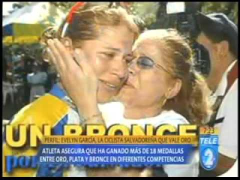Evelyn García la ciclista salvadoreña que vale oro