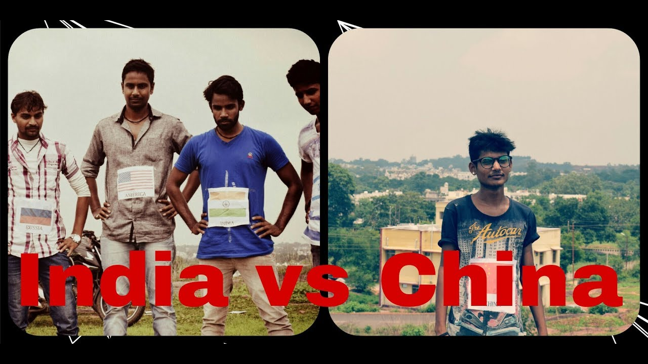 When china entered in indian border ! india vs china ! funny video 2017 ! indian silent comedy !