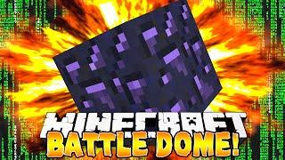 Minecraft - NEW BATTLE DOME! (1.8 Enchanting!) w/Preston, Woofless, Ashley, Taz & Nooch