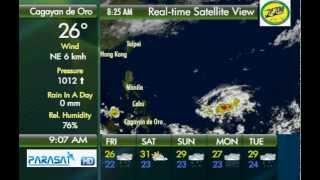 Parasat Weather Update Cagayan de Oro City: November 9, 2012