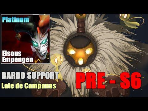 LOL PRE-S6 | Bardo Support - Mediendo Ultimates [Gameplay Español]