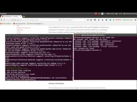 Cara Install Laravel 5 Di Ubuntu