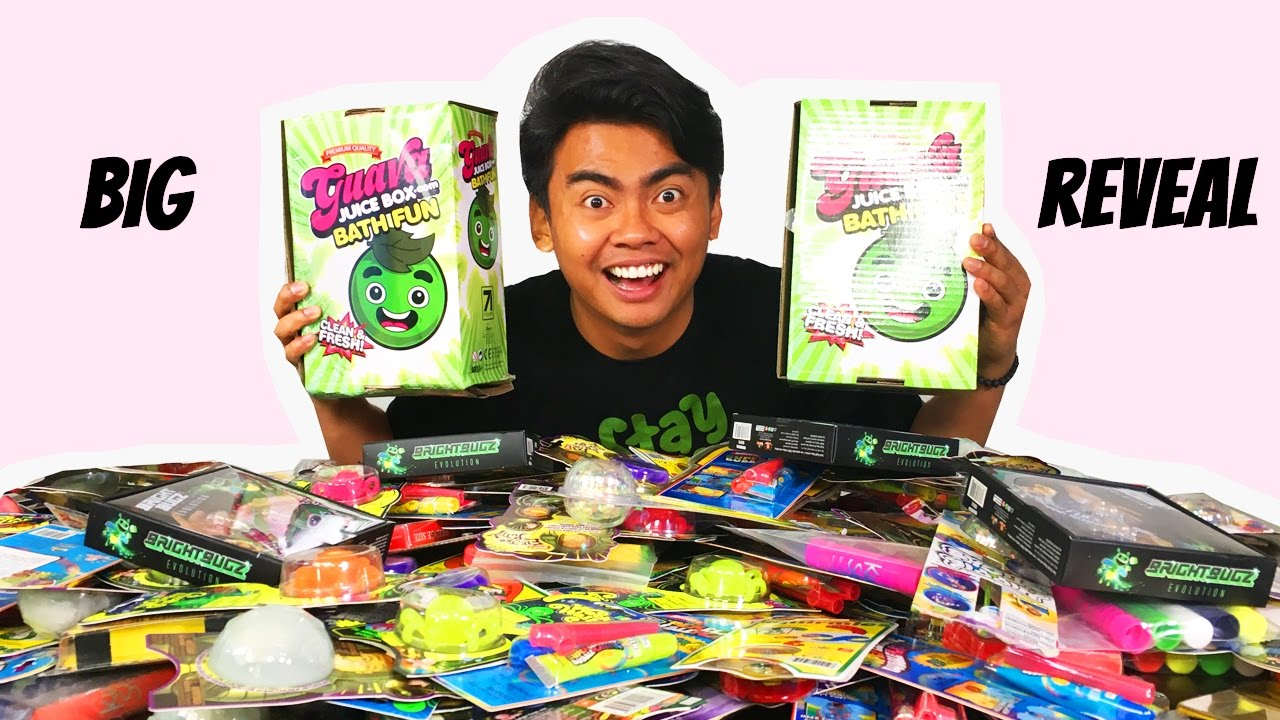 Gava Juice Toy : More guava juice boxes surprise toy youtube
