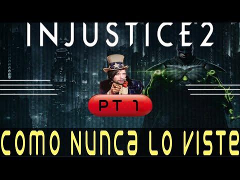 COMO NUNCA LO VISTE   INJUSTICE 2 Pt 1