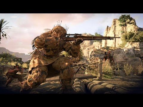 Sniper Elite 3 teaches you to be stealthy or die in this multiplayer gameplay trailer