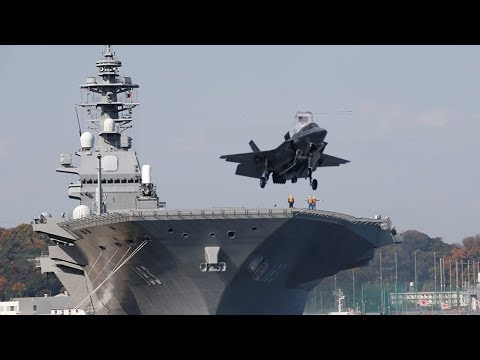 Beijing Warns Tokyo Against Modifying Ships to Carry F-35s   JS Izumo Helicopter Carrier