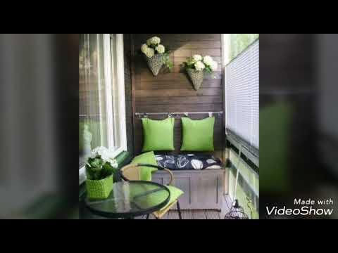 Balkon Dekorasyon Onerileri 2018 Youtube