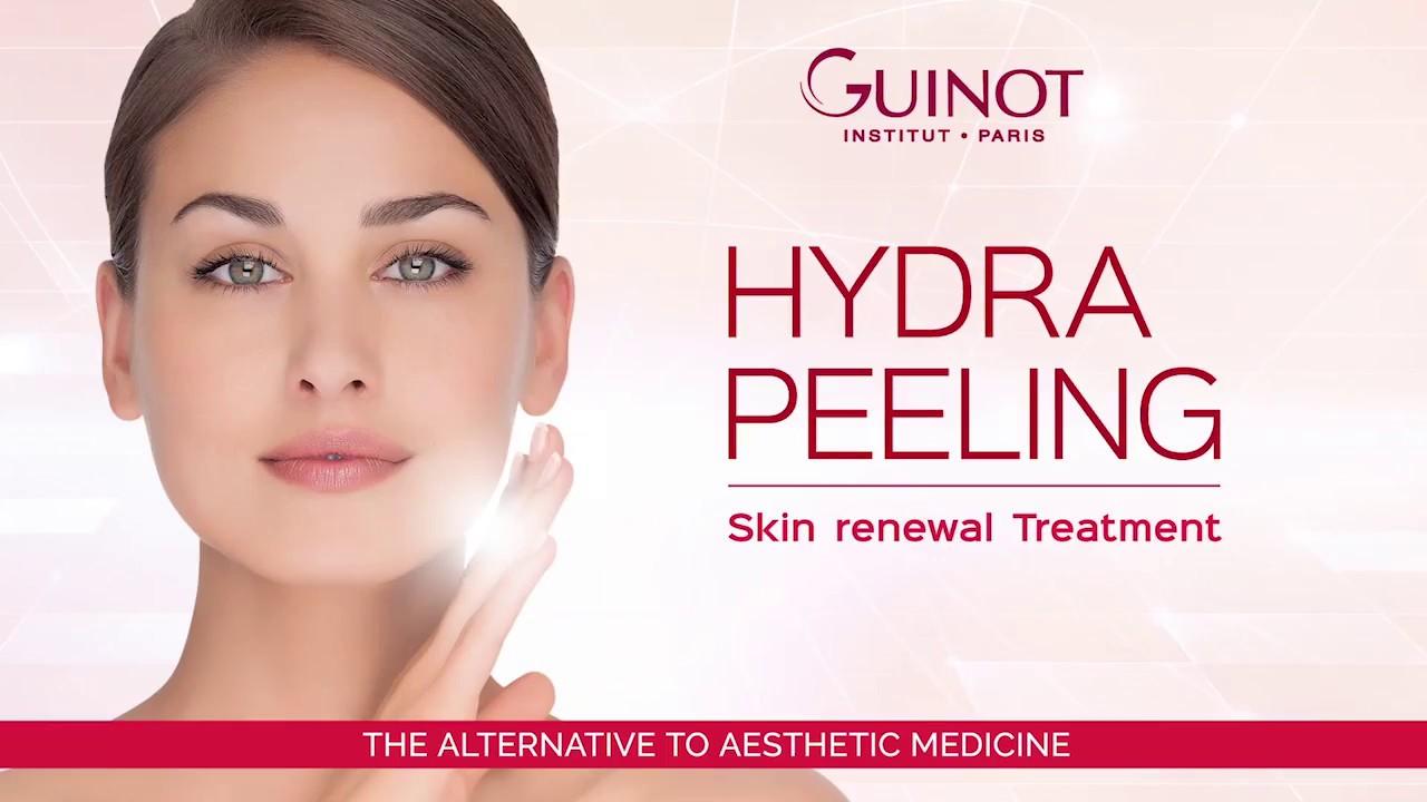 Facial peeling treatment amusing