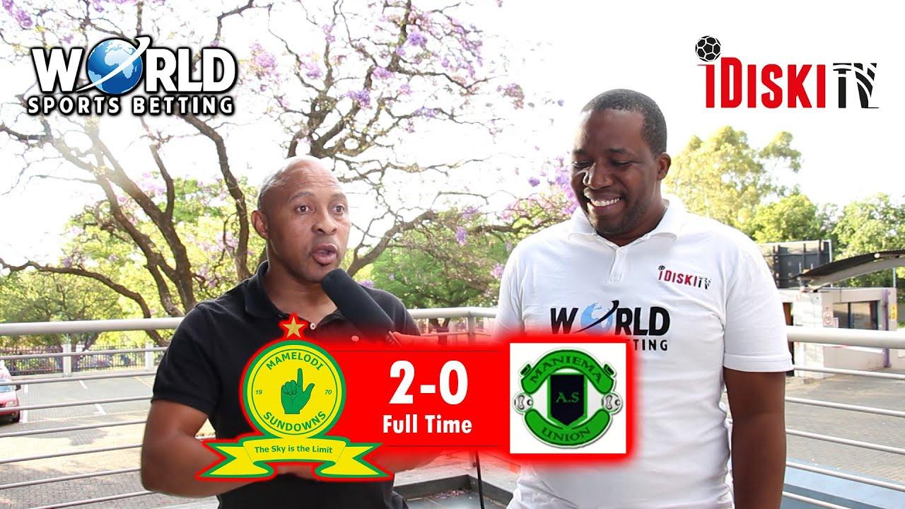 Download Mamelodi Sundowns 2-0 Maniema   Sundowns Can Go All The Way   Tso Vilakazi