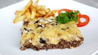 Говядина с грибами / Мясо по Французки