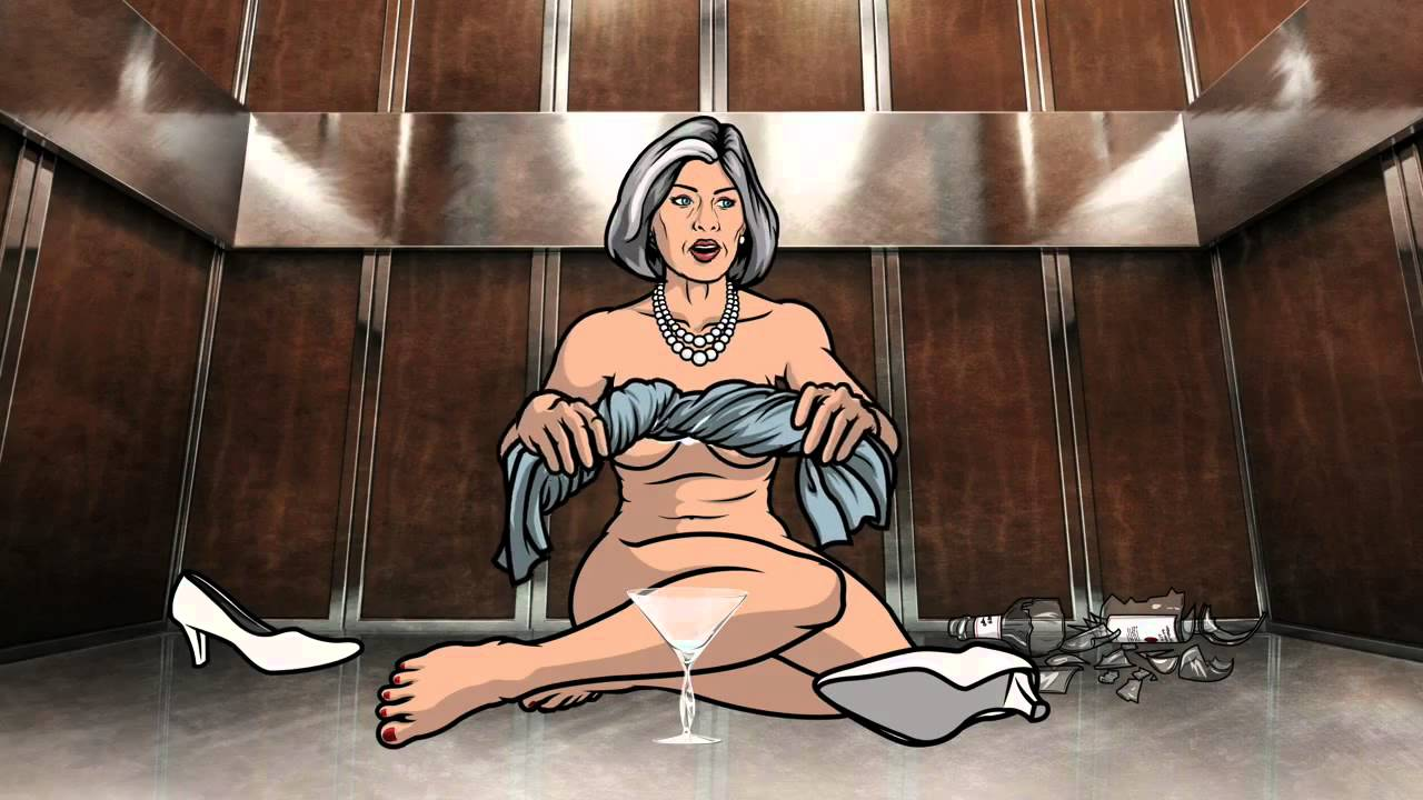 Amber Nash Nude is archer the most progressive television show on women's