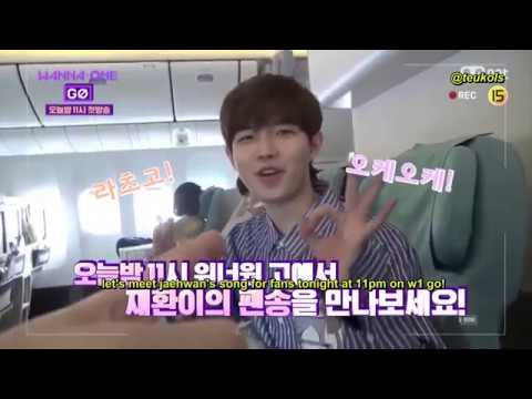 [ENG] Wanna One Go Season 2 Preview - Plane Ride to Thailand FM