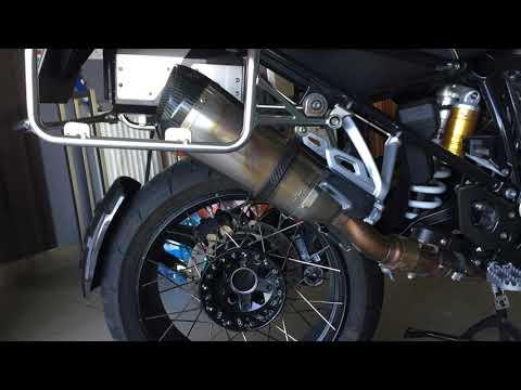 BMW R1200 GS ADV LC EXHAUST Sound Akrapovic HP Leo Vince Titanium