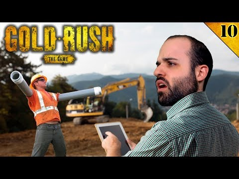 MI PRIMER TRABAJADOR   GOLD RUSH Gameplay Español