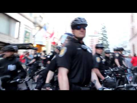 SPD Macing People to Incite Chaos (Spraying Random Citizens/Journalists)