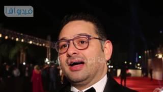 أمير شاهين: سعيد بكثافة الأفلام المصرية المشاركة في مهرجان القاهرة السينمائي هذا العام