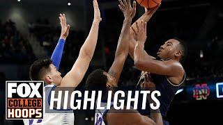 Notre Dame vs DePaul | Highlights | FOX COLLEGE HOOPS
