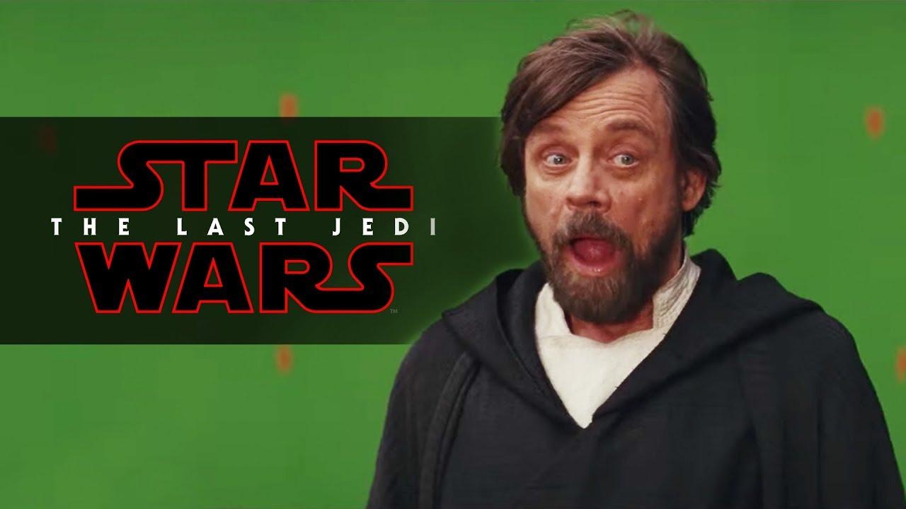 Звёздные войны. Эпизод 8: Последние джедаи / Star Wars VIII: The Last Jedi [2017]: Disney представил подборку неудачных сцен фильма «Звездные войны: Последние джедаи»