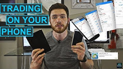 Day trading on your mobile phone | Good & Bad