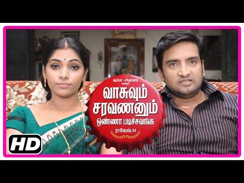 VSOP Tamil Movie | Scenes | Santhanam wants Arya to talk with Tamanna | Bhanu