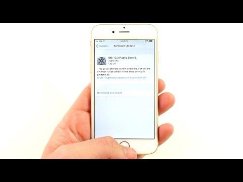 How To Install iOS 10.3 Beta 6?
