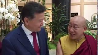 Оракул Тибета поздравляет с Днем Степного Уложения (05.04.2019) (Ташкент)