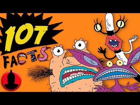 107 Aaahh!!! Real Monsters Facts YOU Should Know! - Nickelodeon Cartoon Facts! (107 Facts S7 E21)