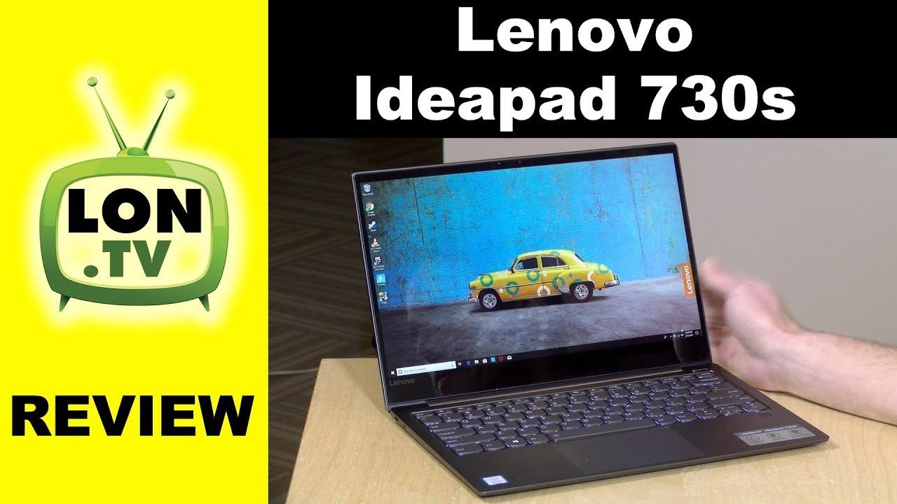 Lenovo IdeaPad 730S Review - 13