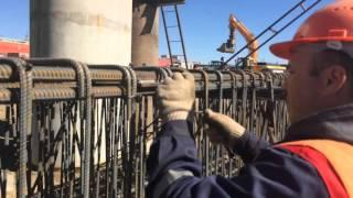 Строительство железнодорожной эстакады в г. Астана(ТОО