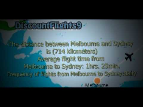 Cheap Flights From Melbourne To Sydney