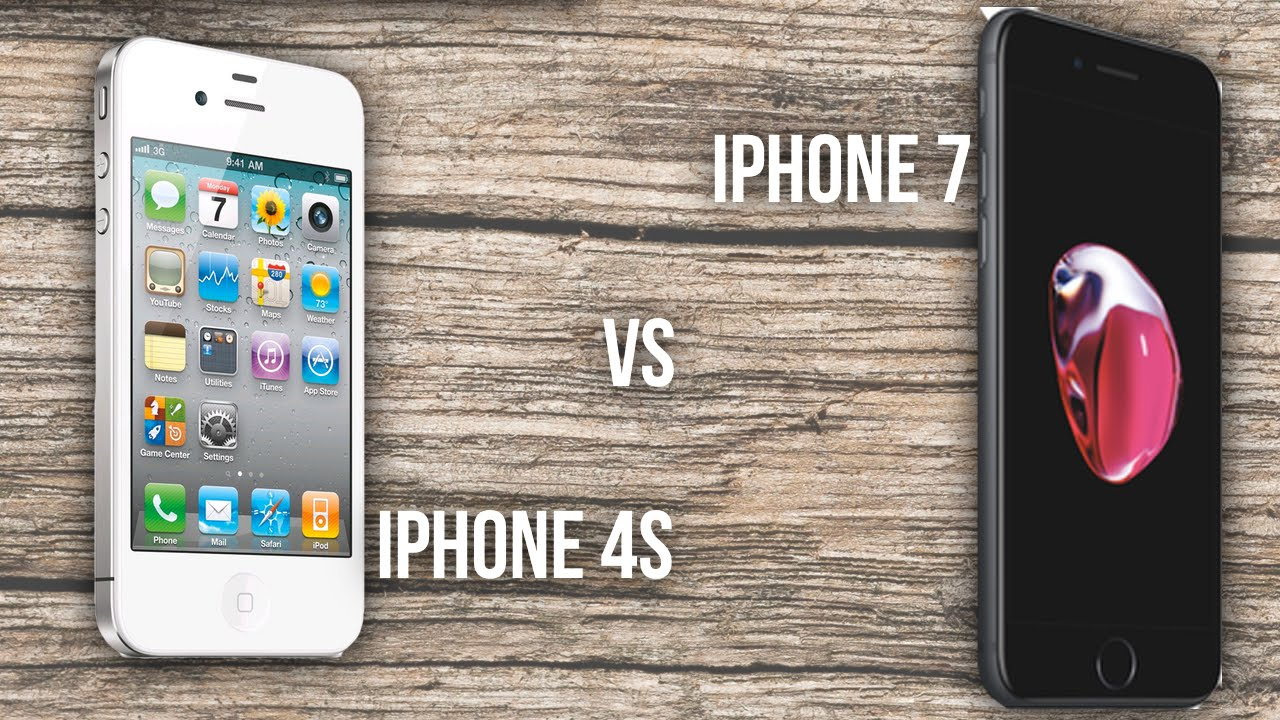 iphone 4s size iphone 4s vs iphone 7 10931