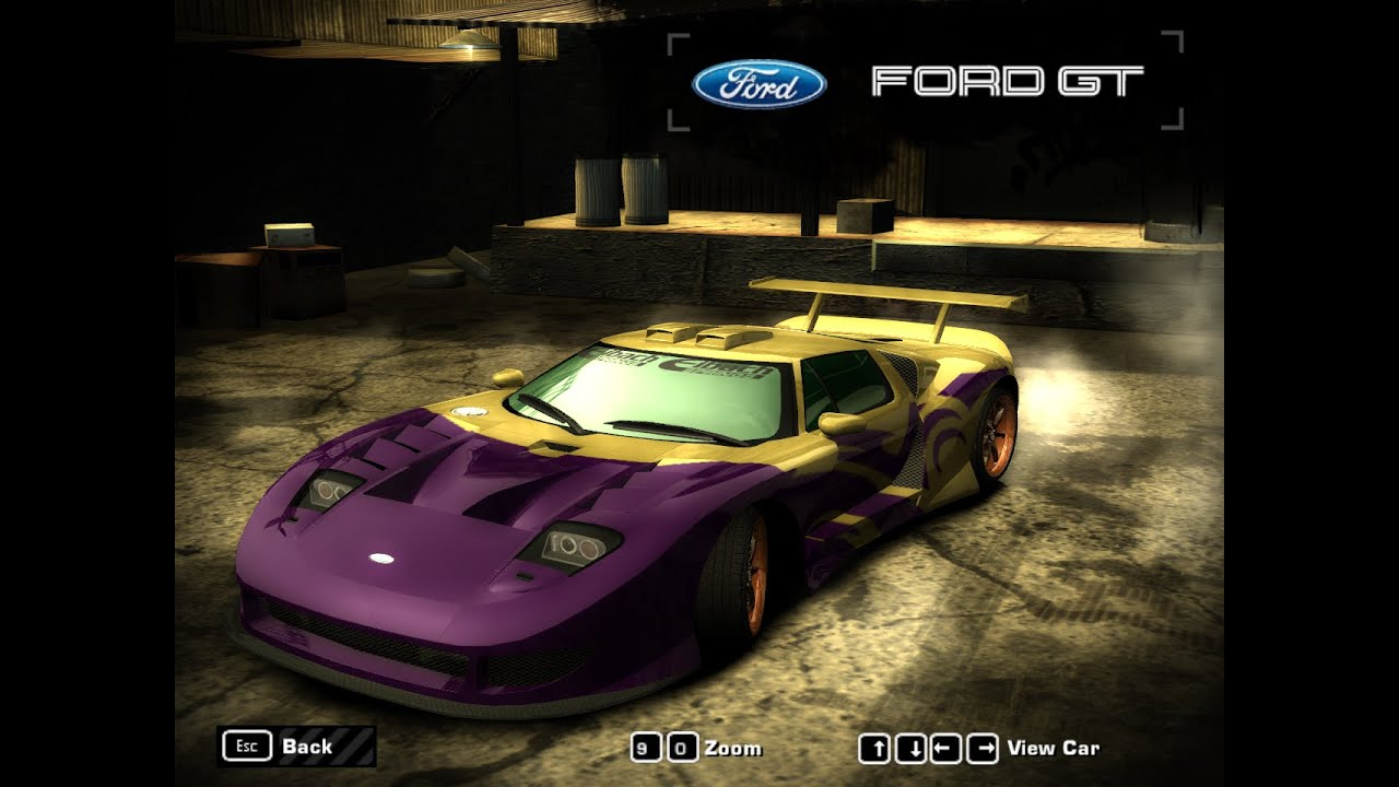 Need For Speed Most Wanted  Ford Gt Hd