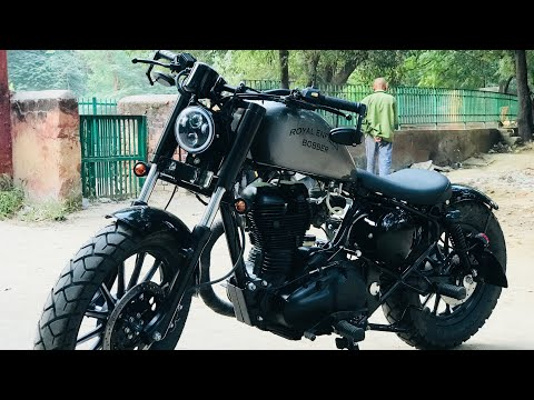 Royal Enfield modified | bike modification | Into Harley
