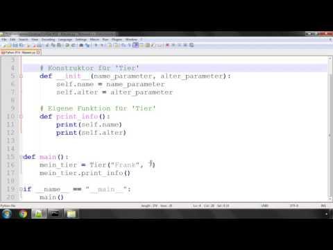 Python Crashkurs für