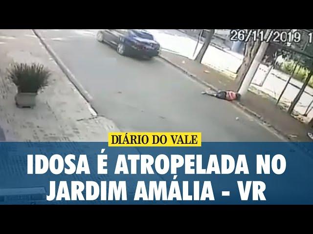 Idosa é atropelada no Jardim Amália, em Volta Redonda