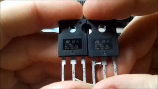 Обзор и тестирование биполярного PNP транзистора TIP36C