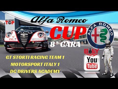 ALFA ROMEO CUP -GT SPORT TOP TEAM-8ª GARA - MOTORSPORT ITALY-GT STORTI-DG DRIVERS - BILLY BULLY LIVE