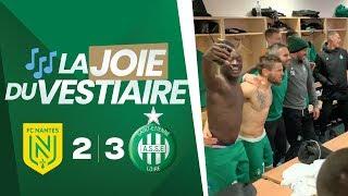 VIDEO: Nantes 2-3 ASSE : la joie du vestiaire