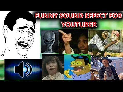 funny sound effect for youtuber - YouTube