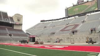 Ohio Stadium prepares for Rolling Stones