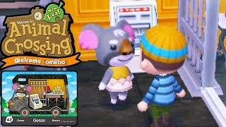 Animal Crossing New Leaf - Welcome amiibo Card Update - Gonzo RV Home ABD - 3DS Gameplay Walkthrough