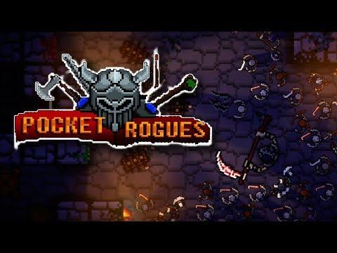 Pocket Rogue | Cavernas Cheias De Monstros! | Gameplay Em Português PT-BR