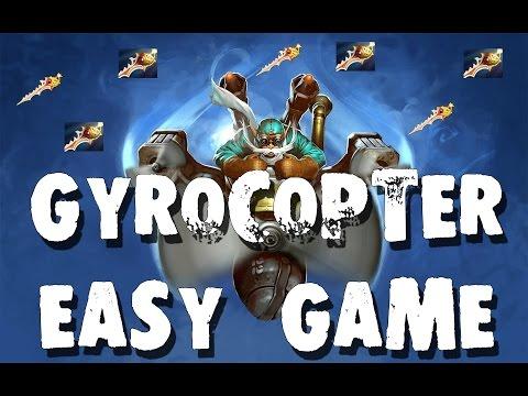видео: от Бога - gyrocopter dota 2