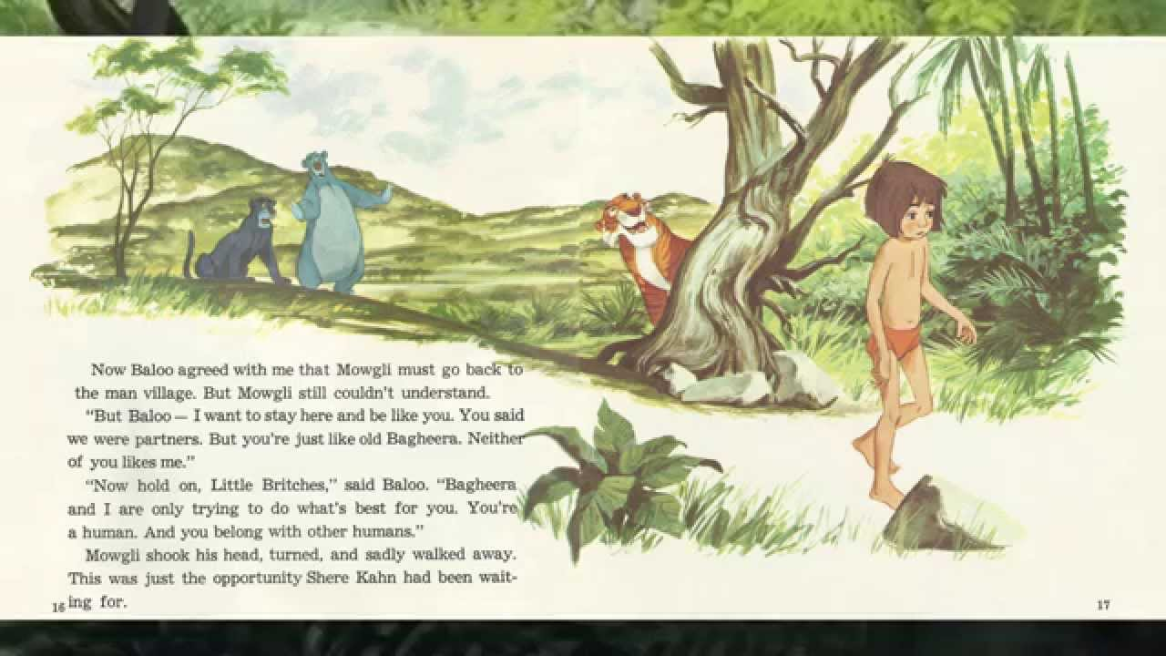 Disney S Book And Record The Jungle Book Youtube
