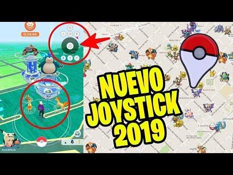 Como Jugar Pokemon Go Desde Casa 2019 Nuevo Joystick Youtube